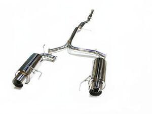 OBX Catback Dual Exhaust Fits For 98-02 Honda Accord V6 3