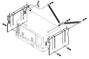 Cummins Onan 403-2689 Generator Underfloor Mounting Kit