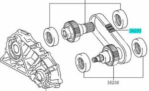 TOYOTA 36293-30020 Transfer Front Drive Chain Genuine