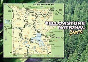 Yellowstone National Park Wyoming Montana Idaho Lake