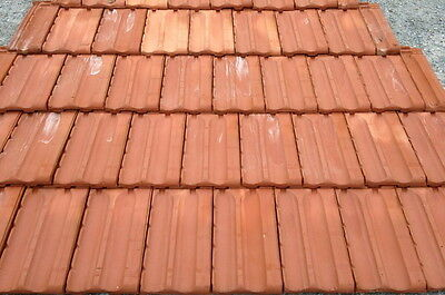 french style roof tile smooth red 2sq 270pcs ebay