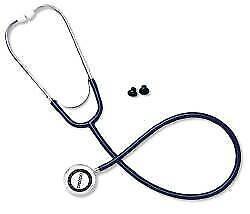 Classic Stethoscope Omron Black 1-Tube Double Sided