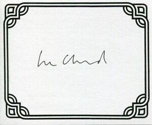Lee Child Jack Reacher Thriller Writer Author Signed