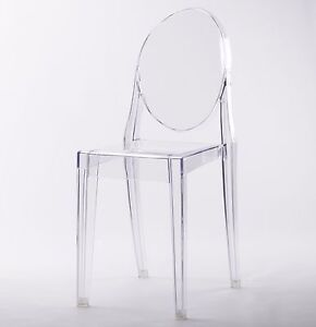 modern plastic chair painted kids table and chairs clear ghost transparent dining vanity image is loading