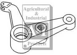 A-194590M1 Massey Ferguson Parts CENTER STEERING SHAFT ARM