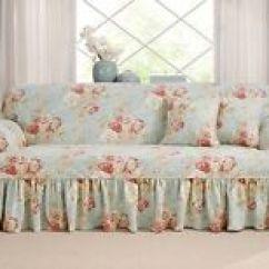 Sure Fit Logan Sofa Slipcover Wayfair Black Table T Cushion Sand Ebay Item 3 Robins Egg Blue Ballad Bouquet Slip Cover