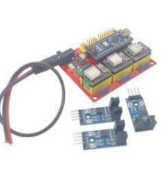 arduino nano cnc shield drv8825 board package kit w 3x optical cnc machine control diagram cnc cnc limit switch  [ 1600 x 1352 Pixel ]