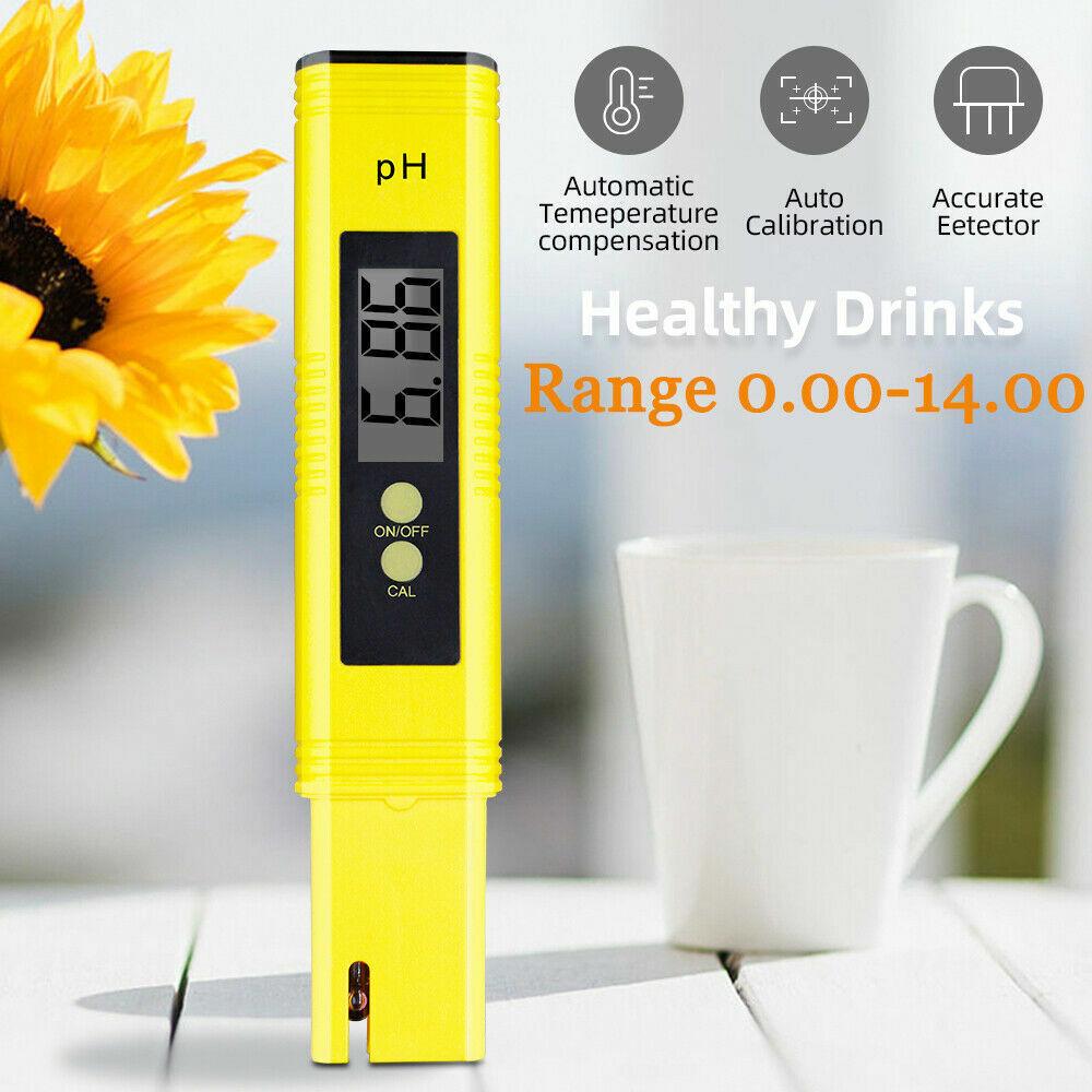 LCD Digital PH Wert Tester Messgerät Wassertestgerät Meter Prüfer für Aquarium