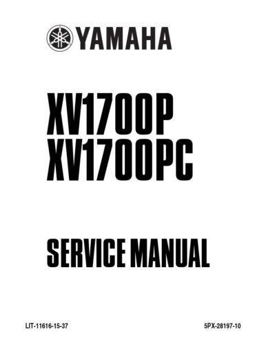New Yamaha Roadstar XV1700 Repair Service Manual 2002 LIT
