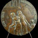 Medal Assist Public de Paris Sc of Deherain 2 15/16in 1949 Helping Medal