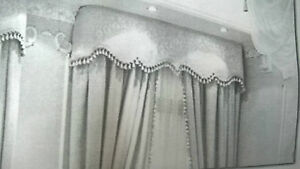 Mantovane per tende in vendita: Tenda Bila Con Calate E Mantovane Realizzata Artigianalmente Tinta Unita Ebay