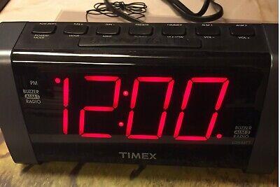 Timex T235 Digital Tuner Dual Alarm