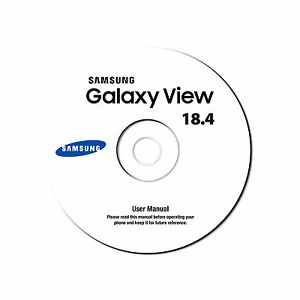 Samsung Galaxy View Tablet 18.4-Model SM-T670-Device User