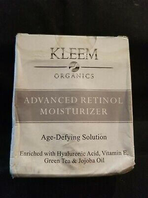Kleem Organics Advanced Retinol Moisturizer : kleem, organics, advanced, retinol, moisturizer, Kleem, Organics, Advanced, Retinol, Moisturizer, Age-Defying, Solution, 1.7oz.
