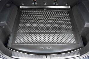 details sur premium tapis de coffre caoutchouc sur mesure pour vw touran 3 2015 pres