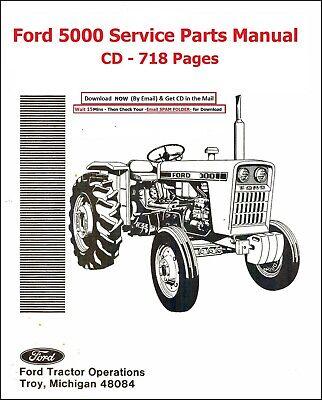 Ford 5000 Tractor Parts Diagram : tractor, parts, diagram, TRACTOR, PARTS, MANUAL, SPECIFIC
