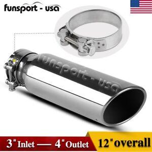 3 inlet bolt on diesel exhaust tip 4