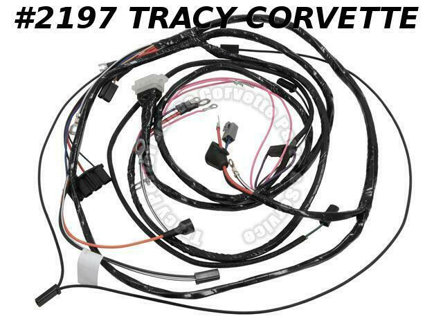 1963 Corvette GM# 2983579 Main Engine Starter Wiring