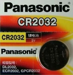 CR 2032 Genuine Panasonic 3v Lithium Coin Button Cell Battery 65mAh EXP 2023 OZ   eBay