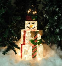 snowman wire white wire glitter mesh lights up box cubes christmas on led dimmer schematic tree  [ 1600 x 1600 Pixel ]