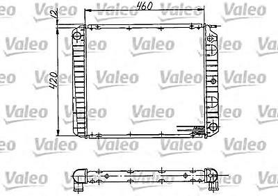 VALEO Engine Cooling Radiator Fits VOLVO 240 760 940 Wagon