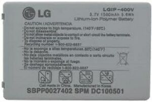 NEW ORIGINAL OEM LG LGIP-400V BATTERY FOR FATHOM VS750
