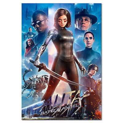 alita battle angel movie poster exclusive art high quality prints ebay