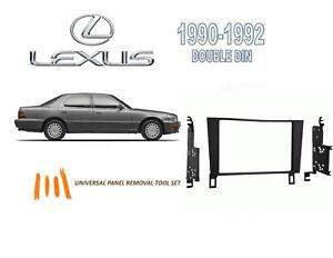 NEW 1990-1992 LEXUS LS400 CAR STEREO DASH INSTALL KIT