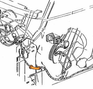 1968-1981 Corvette Power Window Wiring Harness Door Boot