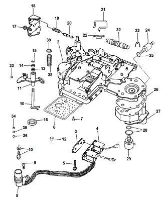 2000-2004 Dodge Dakota Automatic Transmission Solenoid New