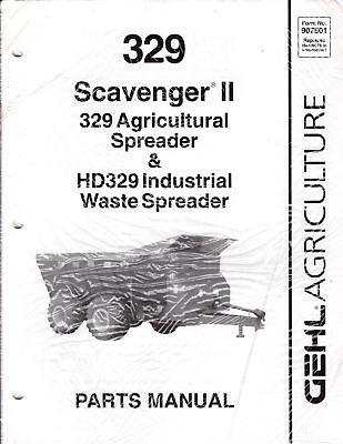 GEHL 329 Scavenger II Agricultural & Industrial Waste