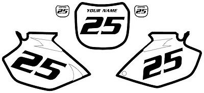 2003-2005 Yamaha YZF450 Custom PrePrinted White