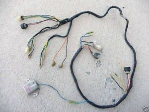 1987 yamaha banshee wiring diagram vs commodore harness great installation of loom electrical round style plugs rh ebay com saturn dodge