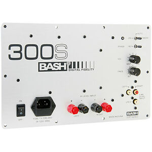 103 Dvd Wiring Diagram Bash 300s 300w Digital Subwoofer Amplifier 844632001383 Ebay
