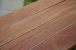 TOP Pavimento in legno da esterno Decking Cumaru Teak americano mm 21x145  eBay