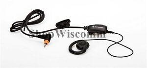 Motorola OEM PMLN7189 Single Wire Swivel Earpiece Inline