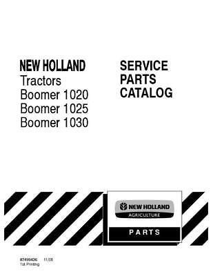 NEW HOLLAND BOOMER 1020,BOOMER 1025,BOOMER1030 PARTS