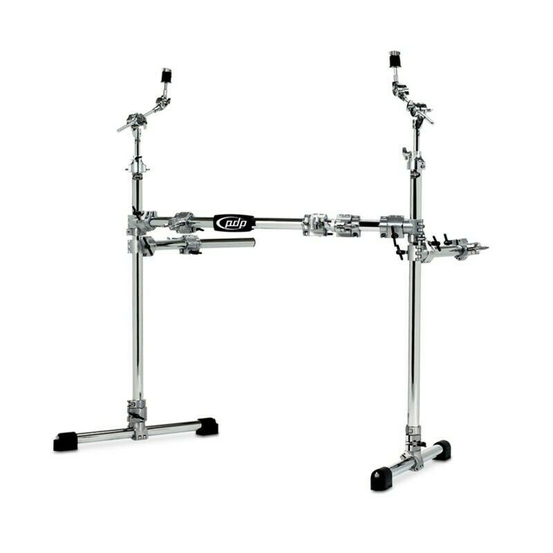 There is a demo video PDP by DW Main Drum Rack System W/ 2