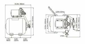 clearance for sale SeaFlo Marine Water Pump 12 V DC 60 PSI