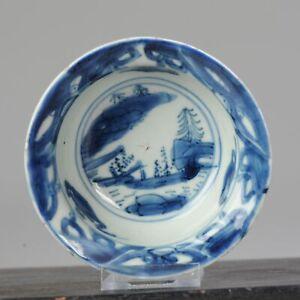 Antique Chinese 16-17th C Porcelain Ming Wanli China Klapmuts