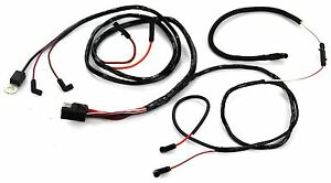 Mustang Engine Gauge Feed Wiring V8 w/ Gauges & 2 Speed