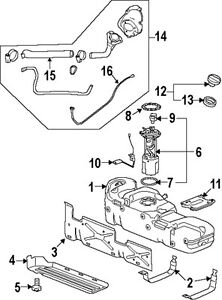 GM OEM 20915990 Fuel Tank Cap   eBay