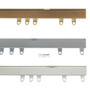 details about fineline metal curtain track rail bends in bay windows aluminium bendable by han