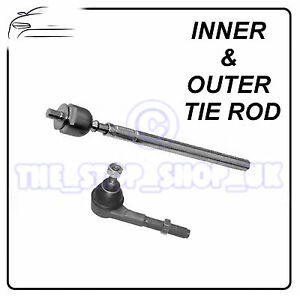 Peugeot 307 Citroen C4 06/2005- Inner & Outer Tie Rod End