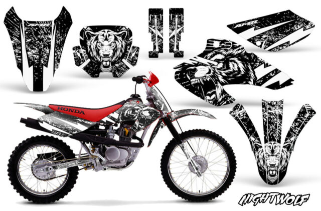 Honda XR80R XR100R Dirt Bike Graphic Sticker Kit Decal