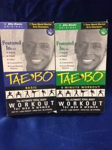 Tae Bo 8 Minute Workout : minute, workout, 8-Minute, Workout, Billy, Blanks, Exercise, Video, Ultimate, Total-114a