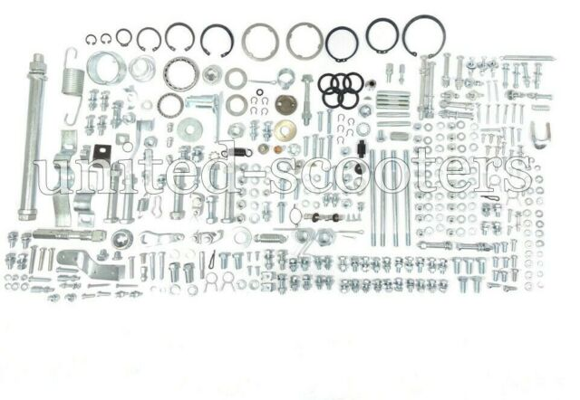 Vespa Complete Nut Bolt Washer Hardware Fixing Kit PX 125