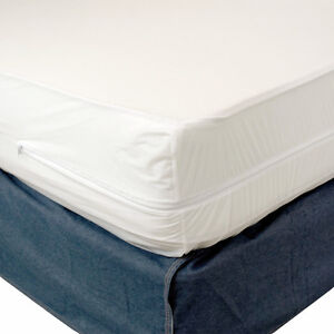 Twin Size None Allergenic Mattress Cover Zippered Waterproof Bed Bug Protector  eBay
