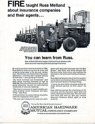 1970 Print Ad American Hardware Mutual w International