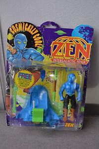 Zen Intergalactic Ninja Action Figure w/ Comic Book 1991